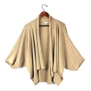 Calypso St. Barth cardigan sweater pleated linen